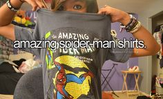 Amazing Spider-man shirts