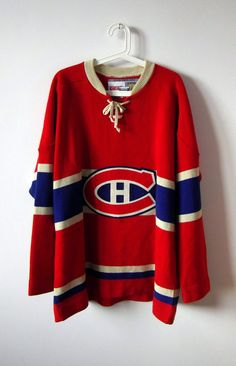 Official Licensed Jersey Vintage Hockey / Red by VINTAGEMINISTRY, €20.00