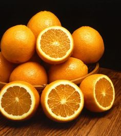 oranges always make for a striking still life.
