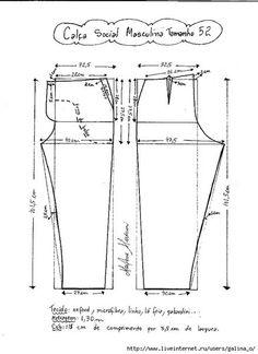 Como hacer un pantalon de vestir para hombre09