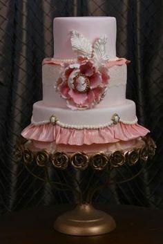 Blush & Bashful Cake by angelica
