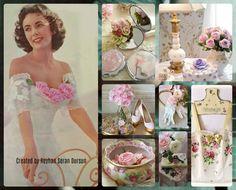 '' Elizabeth & Vintage Roses '' by Reyhan Seran Dursun