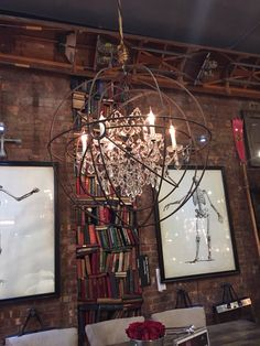 Love this chandelier!!!