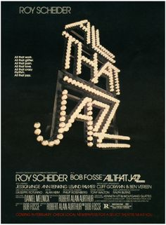 """Advertisement for Movie """"All That Jazz"""", 1979."""