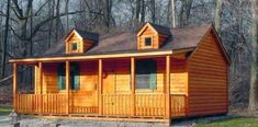 Link to Spirit Cabins - modular cabins and log homes, this is what I want to use for the M-I-L house/ guest house. Prefab Log Cabins, Modular Cabins, Log Cabin Homes, Modular Homes, Model House Kits, Log Cabin Living, Barn Living, Country Living, Small Log Homes