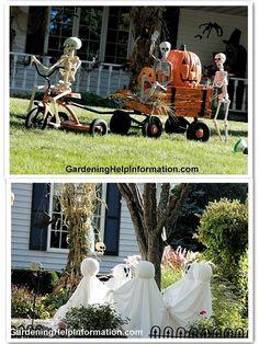Halloween Prop, Halloween Yard Displays, Halloween Outside, Diy Halloween Decorations, Holidays Halloween, Halloween Treats, Happy Halloween, Halloween Makeup, Halloween Costumes