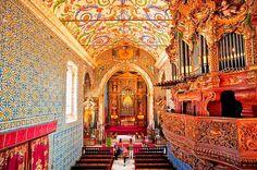 Capela de São Miguel, Coimbra, Portugal | © Jorge Sá