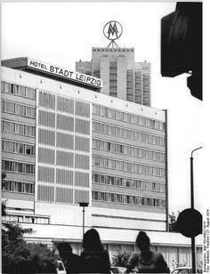 Hotel 'Stadt Leipzig' August 1974