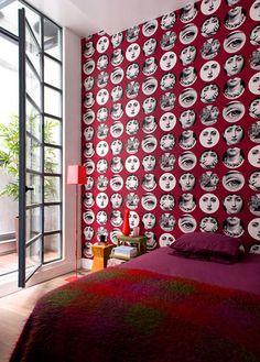 Mas de lo que ya no hay!!!Papel de pared Tema&Variazioni de Piero Fornasetti. www.italier.pe