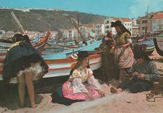 Folclore+Portugal   Folclore de Portugal: SETE SAIAS - NAZARÉ.