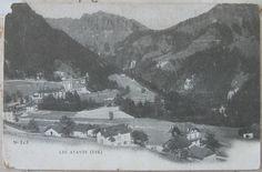s.d. (1900) Les Avants (étè) n° 313 cartolina postale nuova