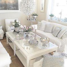 home decor ideas Glam Living Room, Cozy Living Rooms, Home And Living, Living Room Decor, Interior Design Living Room, Living Room Designs, Easy Home Decor, Living Room Inspiration, Modern Farmhouse