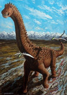 The Titanosaur by Alexanderlovegrove
