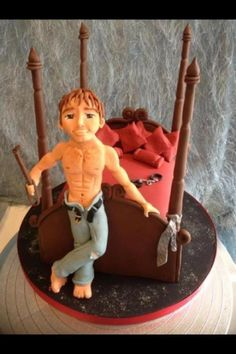 Christian Grey (50 Shades) inspired cake!