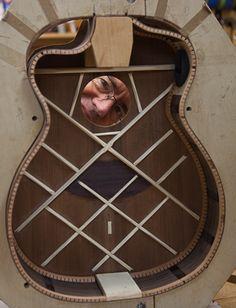 Custom Guitar Construction, Brazilian Rosewood Alchemist Guitar, Lichty Guitars