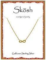 Skosh infinity gold | Skosh Jewelry