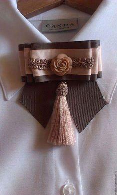 how to make perfume diy Ribbon Art, Ribbon Crafts, Ribbon Bows, Fashion Details, Diy Fashion, Diy Accessories, Fabric Flowers, Diy Clothes, Hair Bows