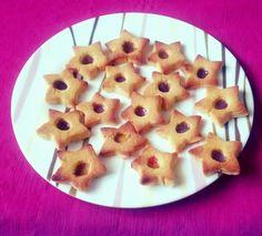 Chick pea flour cookies