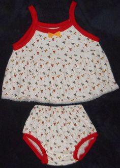 Adult Baby Sissy SunDress Set Two Piece - Teddy Bear Design ABDL