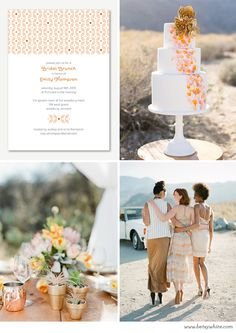 Warm Desert Bridal Shower