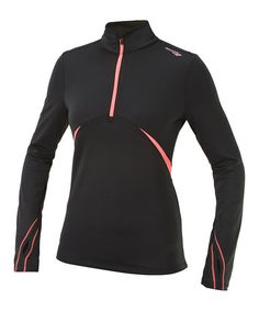 Loving this Black & ViZiPRO Coral Run Strong DryLete Pullover - Women on #zulily! #zulilyfinds