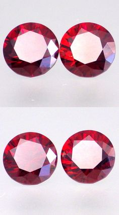 Spessartine 110808: Spessartine Garnet-Tanzania 5.66Ct Tw Flawless-Matching Pair-For Top Jewelry! -> BUY IT NOW ONLY: $254 on eBay!