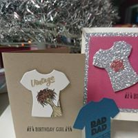 another great set from the spring occasions catalogue by stampin'up. Custom Tee, a stamp set with matching dies. visit me at stampin' up with trudee on facebook for more great ideas.