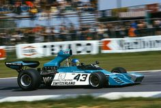 Gerard Larrousse, Scuderia Finotti, Brabham, GP Belgium at Nivelles 1974. His only f1 race