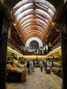 English Market, Cork - not the best place to actually eat in, but wonderful to visit