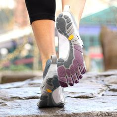 Vibram FiveFingers barefoot shoes from $35 today! And injinji socks on sale too.
