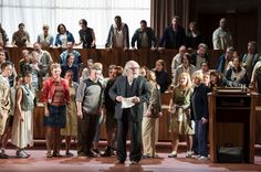Welsh National Opera's Chorus makes Olivier Award shortlist for Moses und Aron - Wales Online