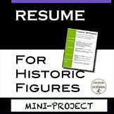 #dollarday Biography Mini-Project: Build a Resume for Hist