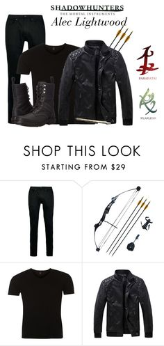 """""""Shadowhunters Alec Lightwood"""" by hestiarocks on Polyvore featuring Topman, Replay, Dr. Martens, men's fashion e menswear"""