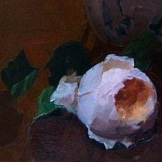 "Detail from ""Portrait of Juliet"" Dennis Perrin"
