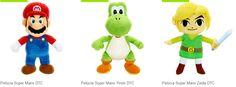 Pelúcias Super Mario Zelda ou Yoshi << R$ 2513 >>