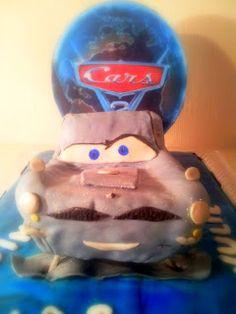 Cars 2 Finn McMissil cake