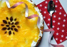 Polentový dort s tvarohem a pomerančovým želé   Cooking with Šůša