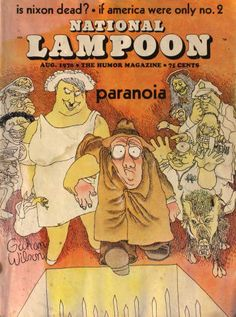 Old Magazines, Vintage Magazines, Office Humor, Work Humor, National Lampoon Magazine, Gahan Wilson, Cartoons Magazine, American Humor, Hulk Art