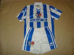 Brighton-amp-Hove-Albion-Home-2000-02-40-034-Football-KIT-Shirt-Short-Soccer-Camisa