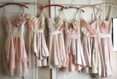 would be so cute as bridesmaid dresses alboutmel