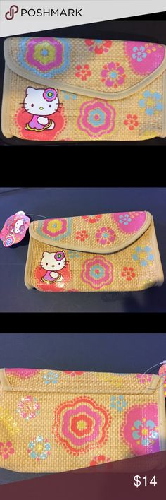 e2c2919ca381 NWT Hello Kitty clutch wallet very rare style Brand new with tag clutch wallet  Hello Kitty