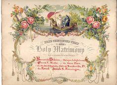 wedding certificates - Google Search