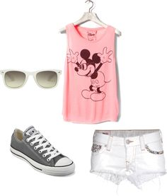 """""""Disney outfit 3"""" by princessmaterial on Polyvore"""