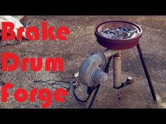How To Make A Backyard 'Survival Forge' … From A Brake Drum - Total Survival