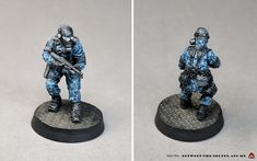 Imperial Agent, Warhammer Imperial Guard, Proof Of Concept, Subtle Highlights, Tiger Stripes, Painting Process, Mold Making, Digital Pattern, Accent Colors