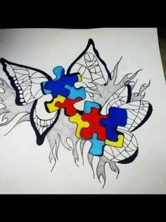 Autism awareness tattoo :)