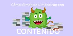 ¡Dale contenidos a tu audiencia y alimenta al monstruo que parece insaciable ya que siempre quiere más información! #blogger #contenido #blogger #suscriptores #socialmedia #clientes #redessociales #communitymanager #marketing #marketingdigital #sm #enredia
