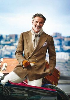 Men and Their Clothes -- What Women Think – Parisian Gentleman Gentleman Mode, Gentleman Style, Gq Style, Classic Style, Sharp Dressed Man, Well Dressed Men, Looks Cool, Men Looks, Fashion Moda