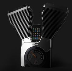 Harley-Davidson Speaker Dock by Woohyeok
