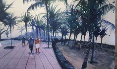 Promenade Puerto del Carmen Lanzarote
